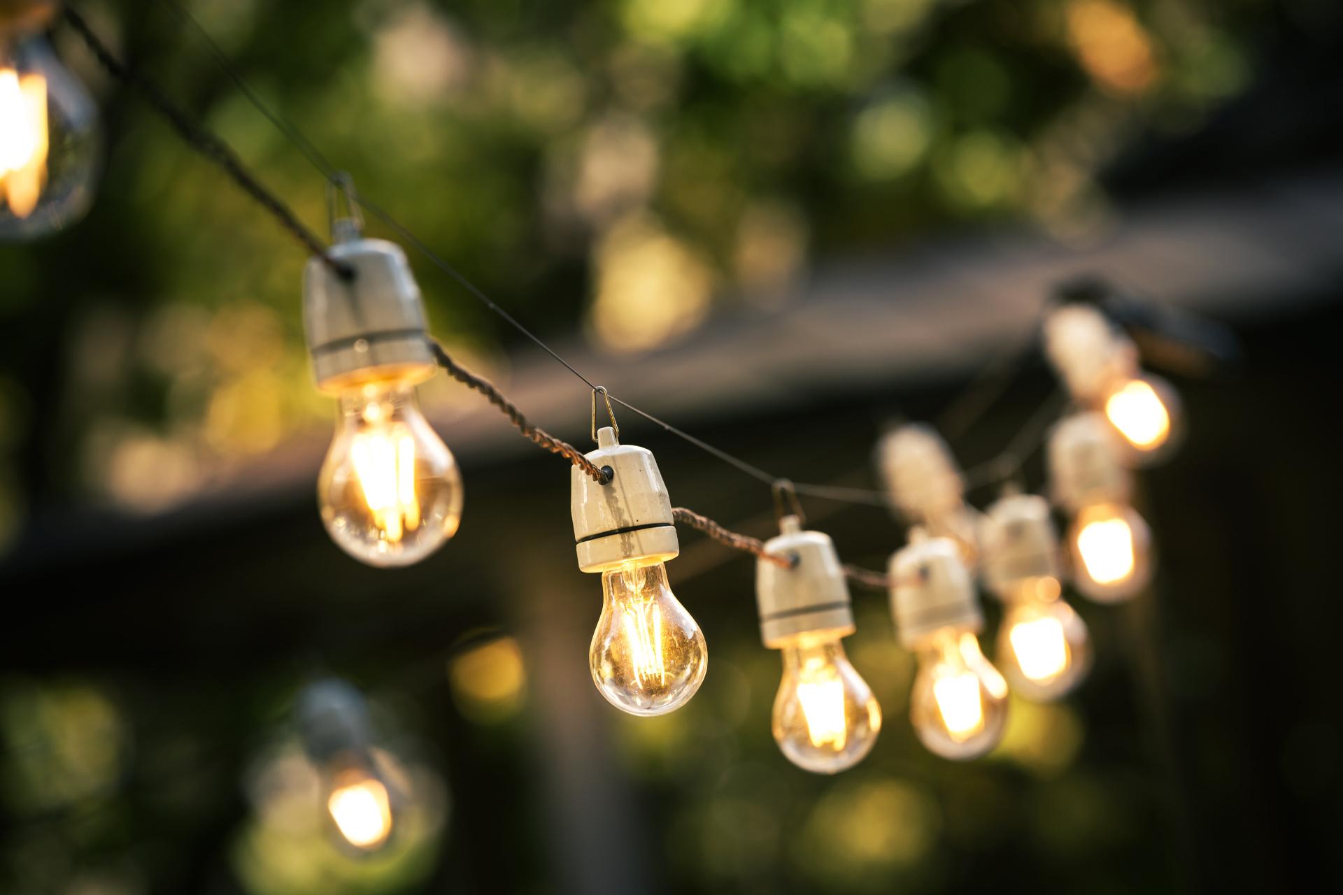 Outdoor Lighting, Cafe Lights, Landscape Lighting