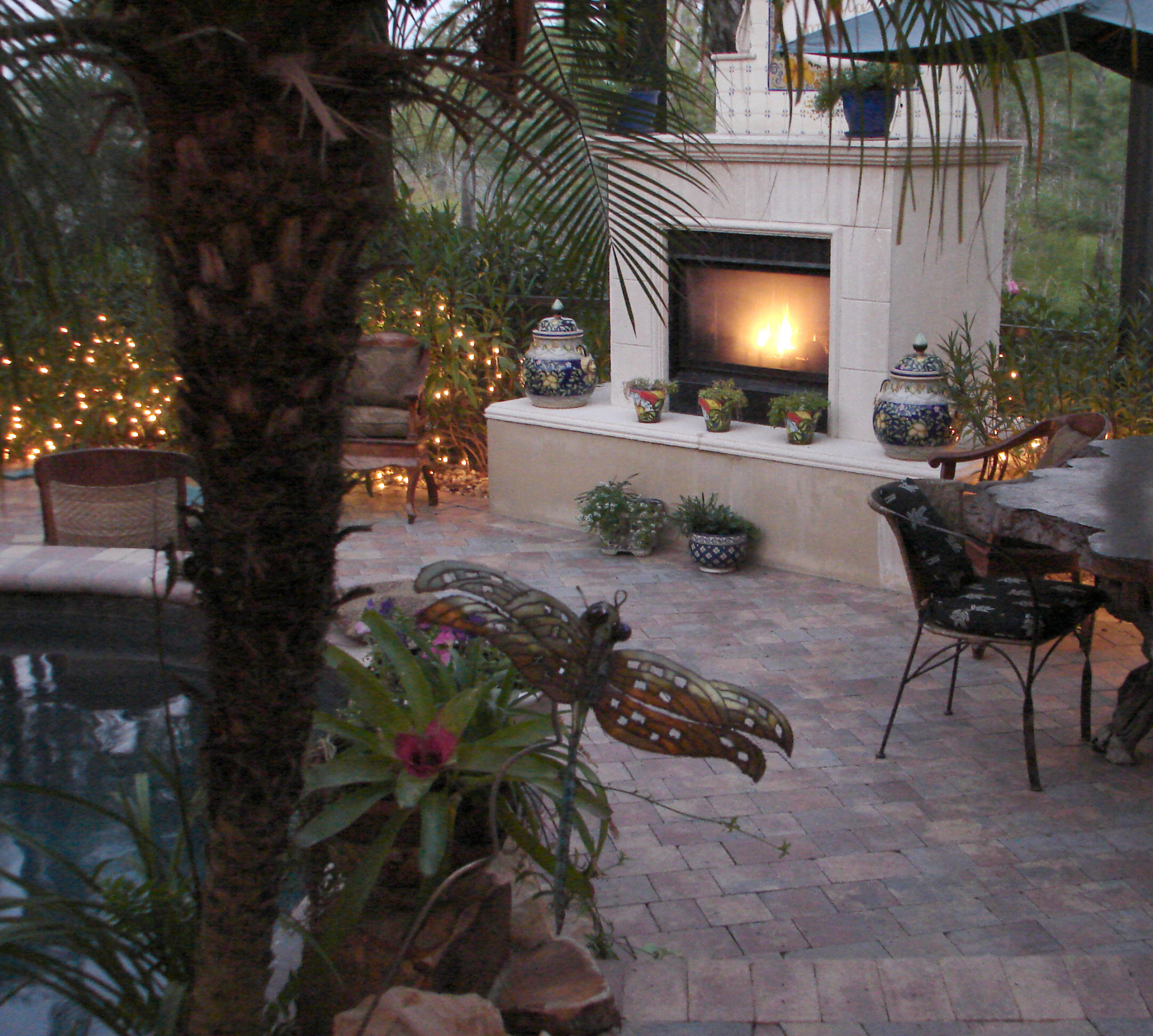 Outdoor Fireplace, Outdoor Living in Orange County