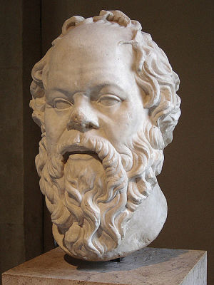 The great bearded philosopher Socrates