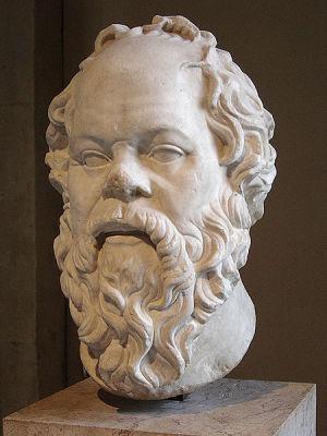 The great bearded philosopher Socrates