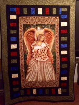 Angel Theme Quilt