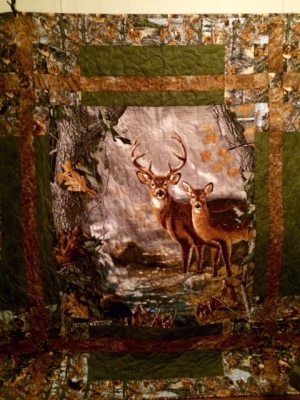 Deer Theme Quilts