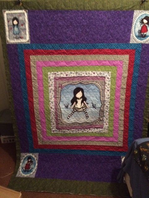 Little Girl Theme Quilt
