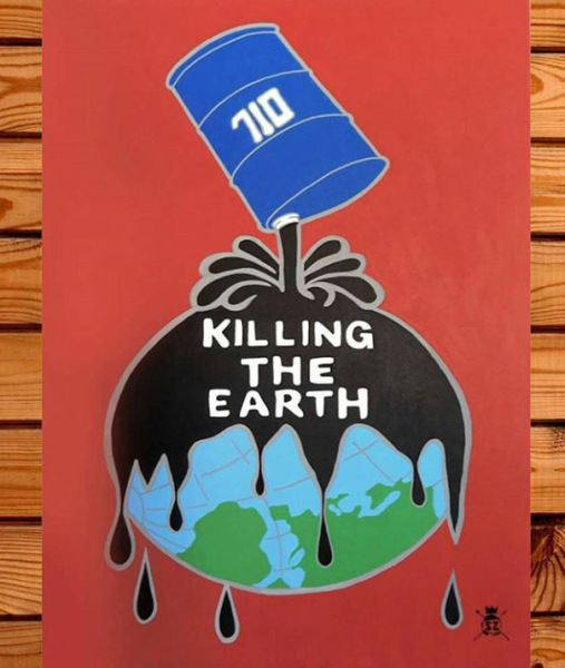 Oil Killing the Earth