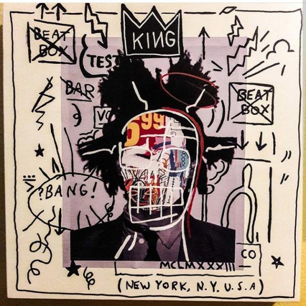 "The ""KING"" Jean-Michel Basquait"