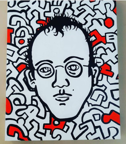 Keith Haring on Keith