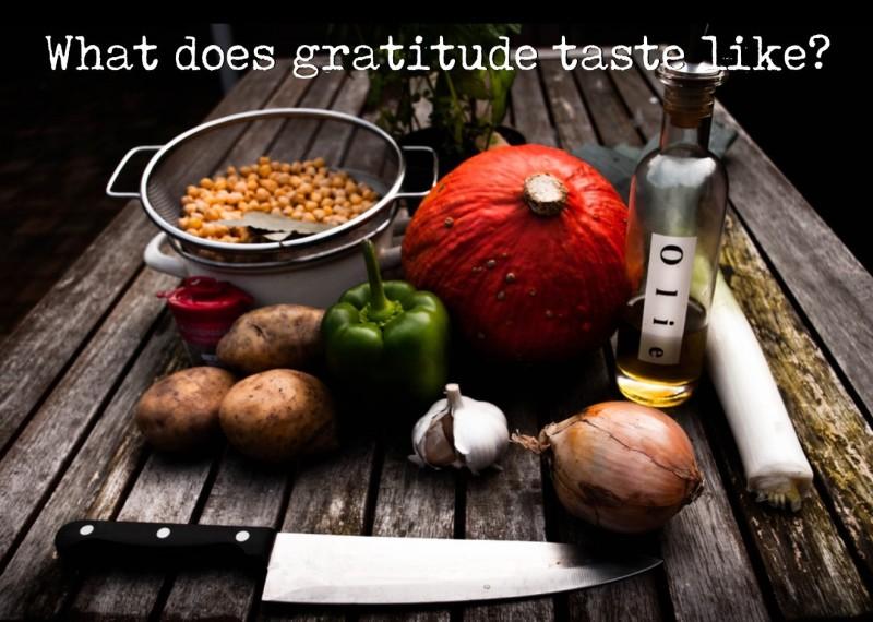 Tasting Gratitude