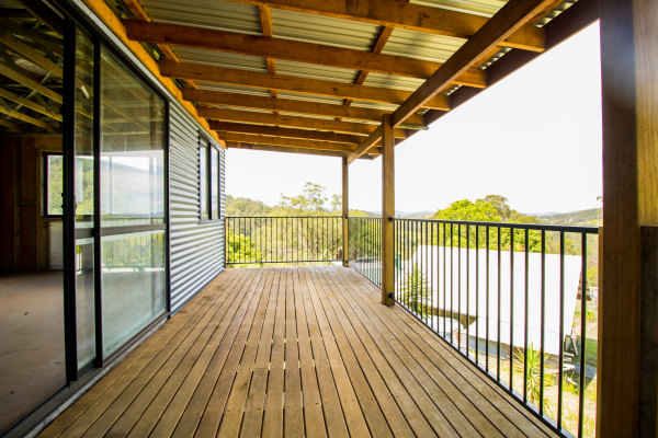 New Dwelling - Veranda