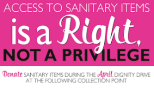 April is Dignity Drive!