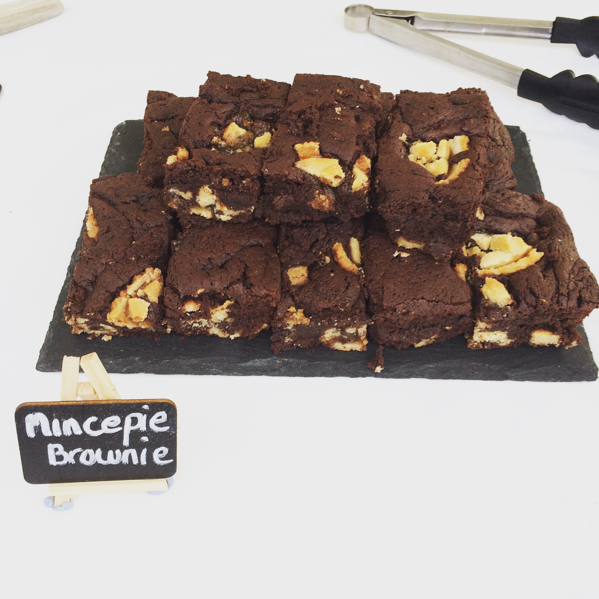 Mince Pie Brownie