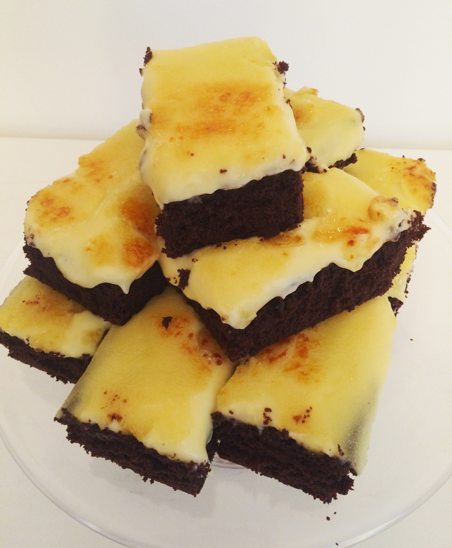 Creme Brulee Brownie
