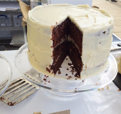 'Not Quite' Red Velvet Cake