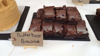Butterbeer Brownies