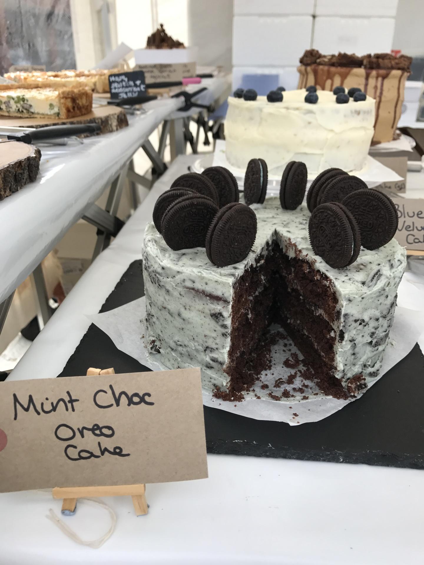 Mint Oreo Cake