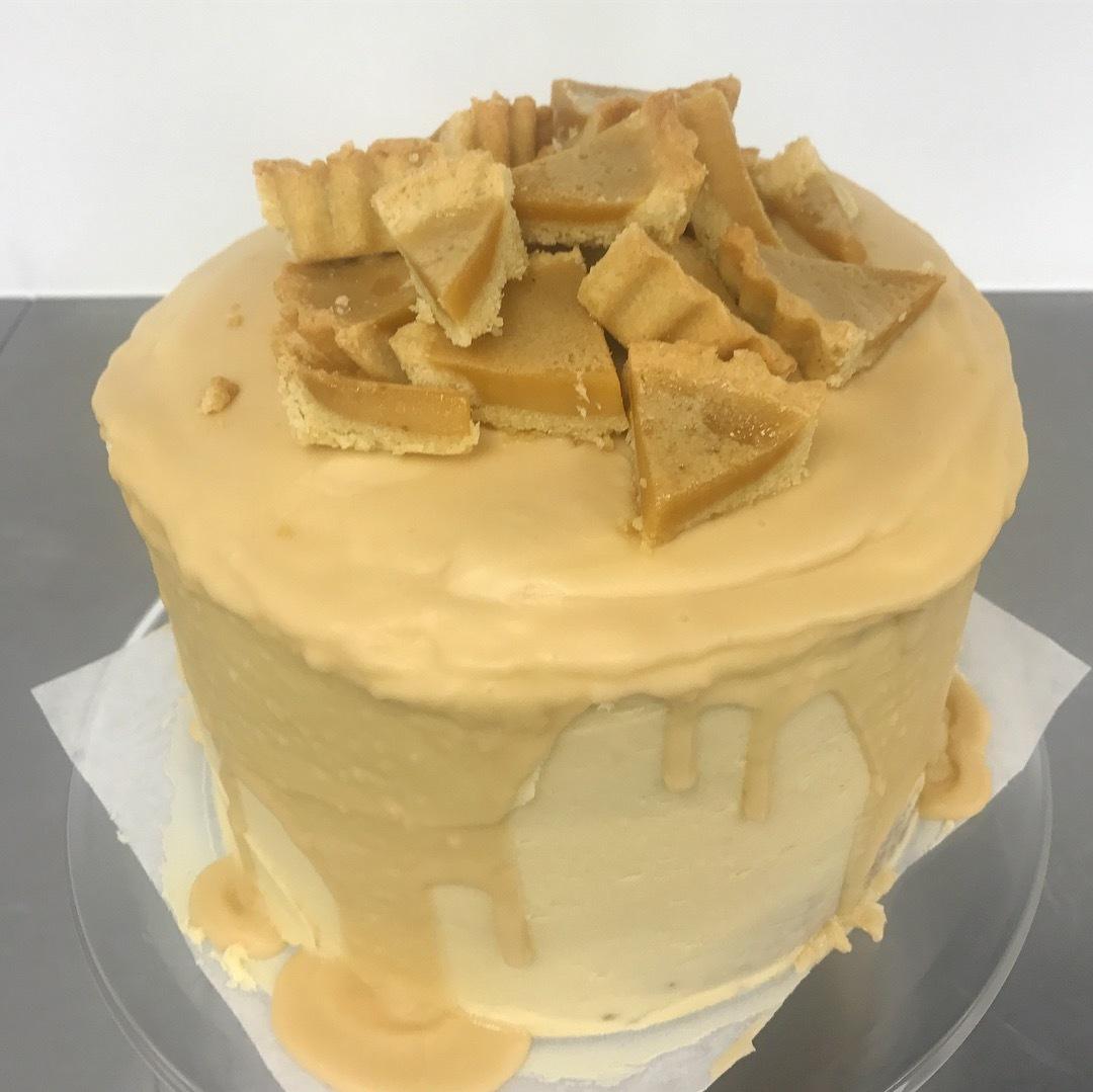 Baileys Custard Tart Cake