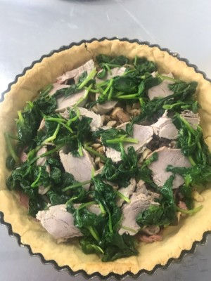 Pork Wellington Quiche