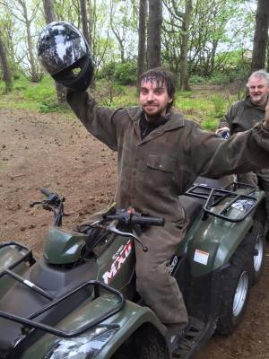 "Stag doo"" at Liverpool Quad Biking"