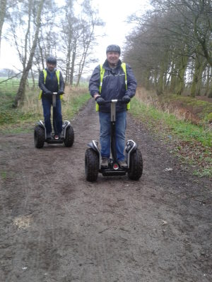 On my Segway day out in formby