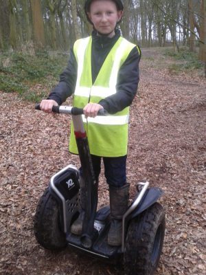 Great fun in lovely surroundings on segway liverpool
