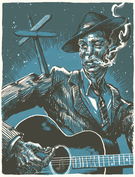 Robert Johnson, Down at the Crossroads