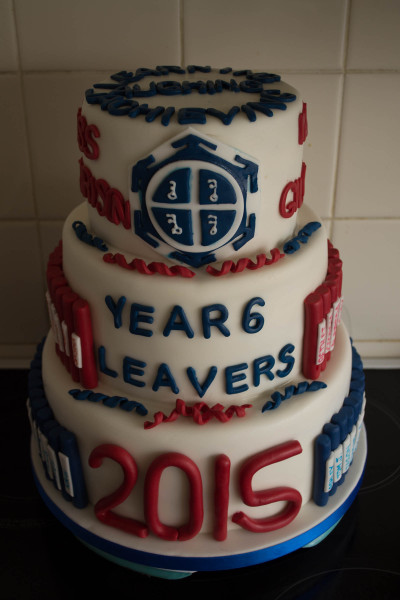 Year 6 Leaver's Cake