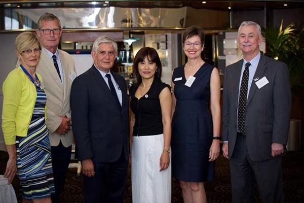 Gillian McGinty, John Angas, Minister Wyatt, Thuy Phan, Sara Blunt & Richard Hearn