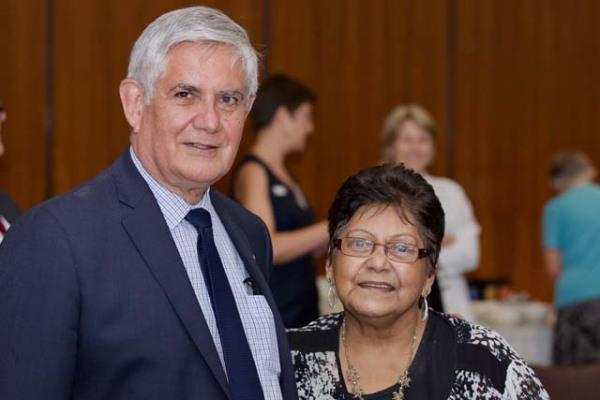 Minister Wyatt & Shirley Peisley