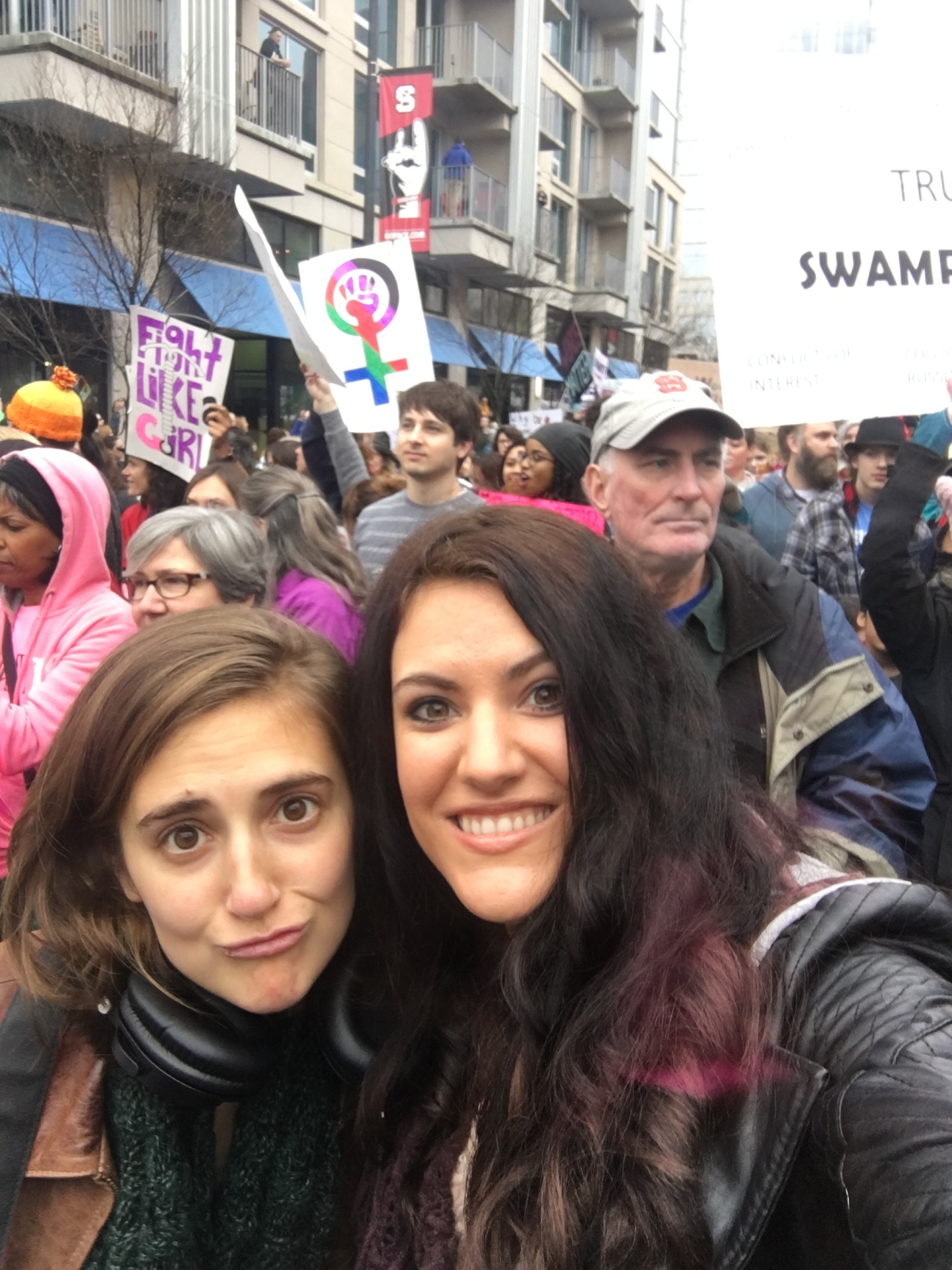Blessed to Be a Part of 2017 Woman's March
