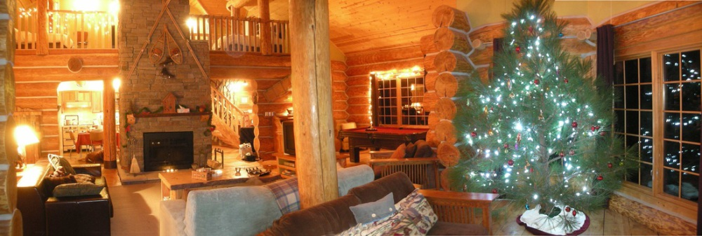 Log Homes luxury