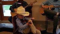Brandon Richardson, Single Eye Ministries, little fiddler, fiddle, len babb western art, cowboy artist,