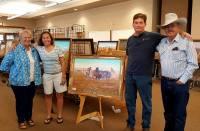 Buffalo, Western Art, Buffalo Hunt, Buffalo Hunters, Dr Larry Len Peterson, Len Babb Western Art
