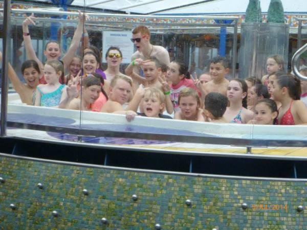 fun in the spa