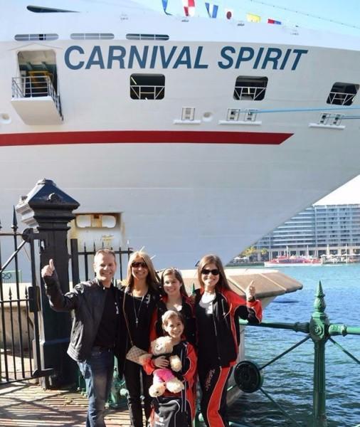 ready to board - Carnival Spirit