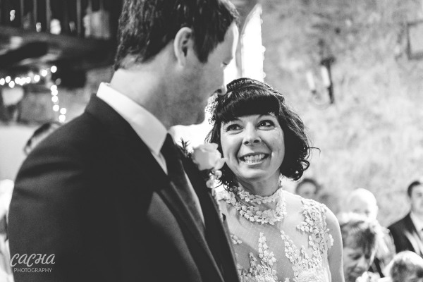 Wedding ceremony at Crook Hall and Gardens, Newcastle Wedding Photography by Cacha Photography