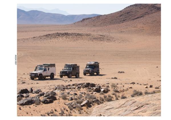 Arnie in the Dorab Desert