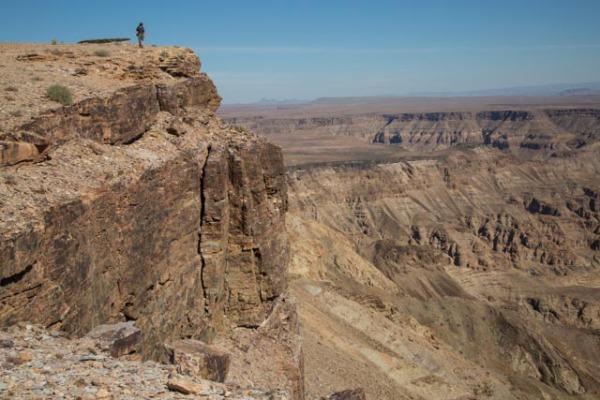 Richard at Fish River Canyon