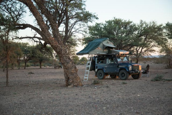 First wild camp