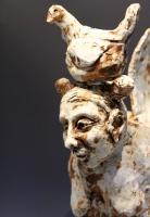 Cork Sculpture Mother Hen 3