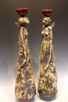Cork Sculpture Womens Work II 1
