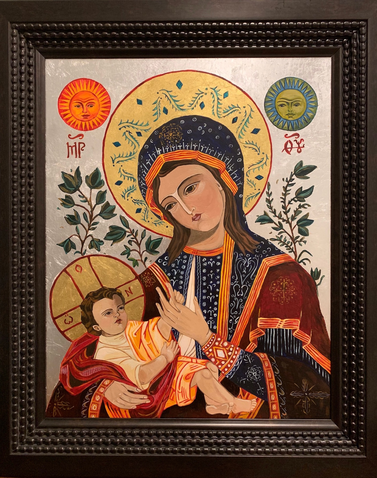 Mother mary, mother of god, angels, Catholic art, religious art, holy images, iconography
