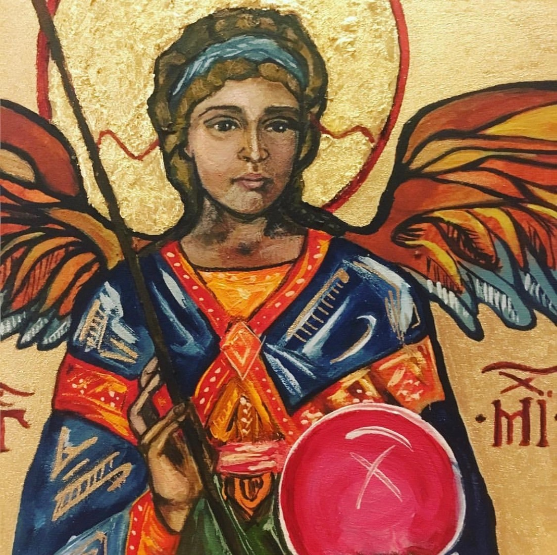 St Michael the Archangel, Catholic art, Holy art, religious images,