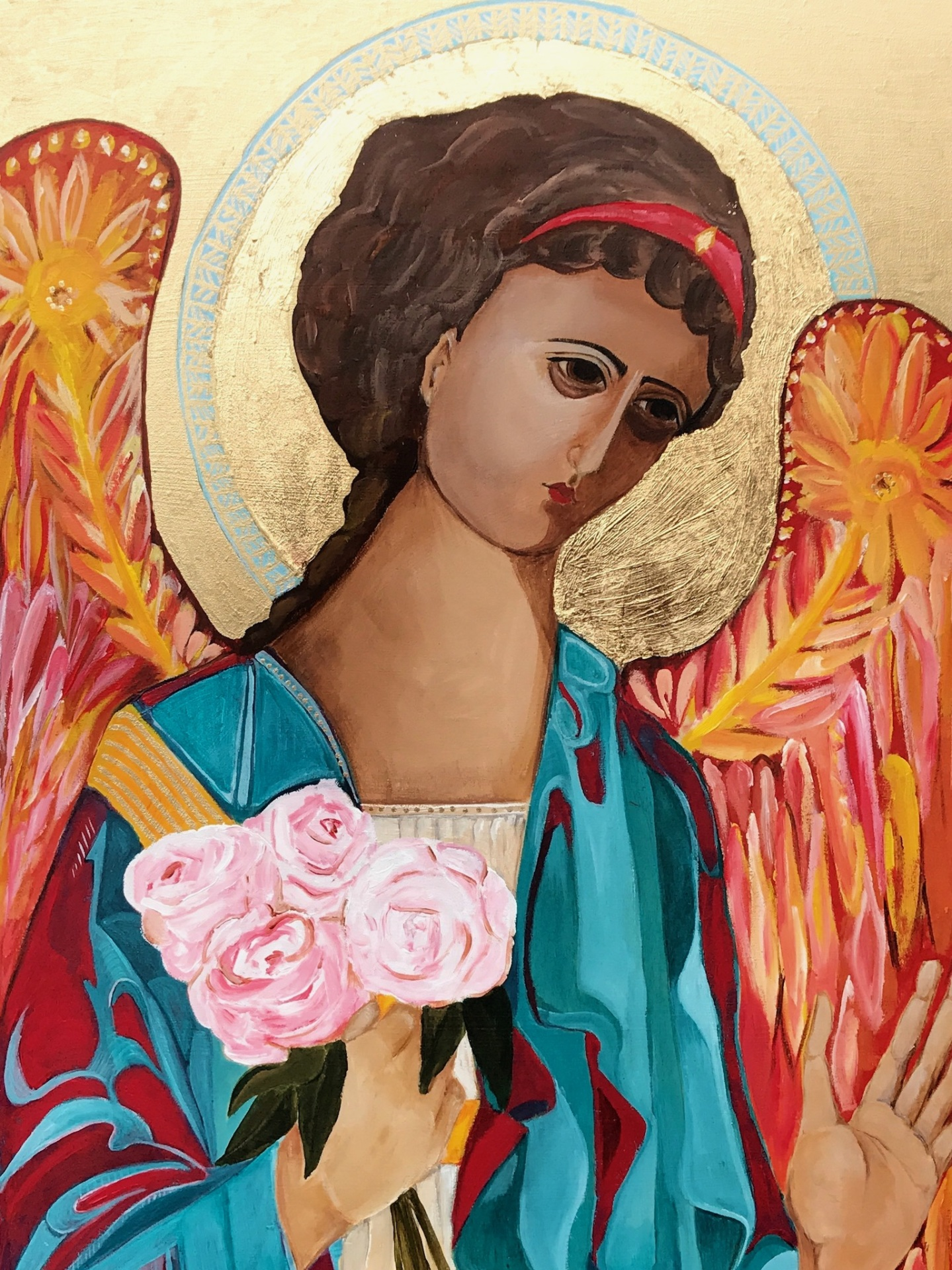 angels, Catholic art, religious art, holy images, iconography