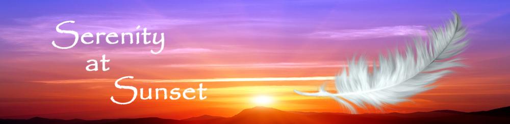 Serenity at Sunset Logo