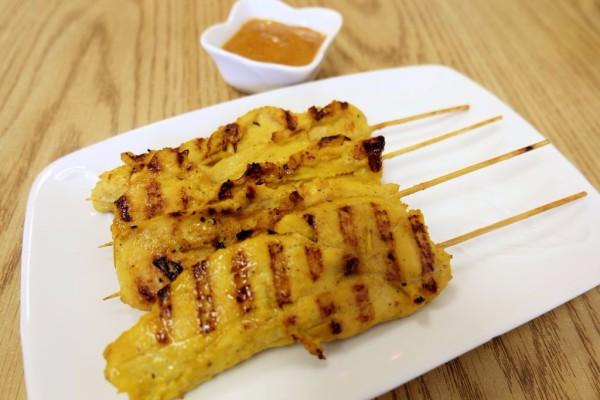 Chicken Satay  $5.95