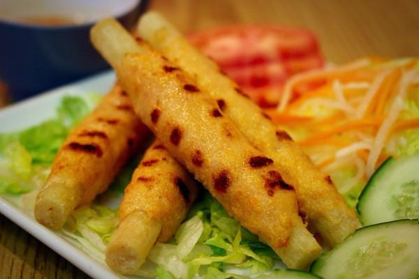 Chao Tom (Sugar Cane Shrimp Cake)        $7.95