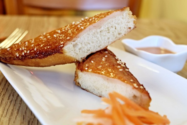 Banh Mi Chien Tom (shrimp Toast)    $5.95