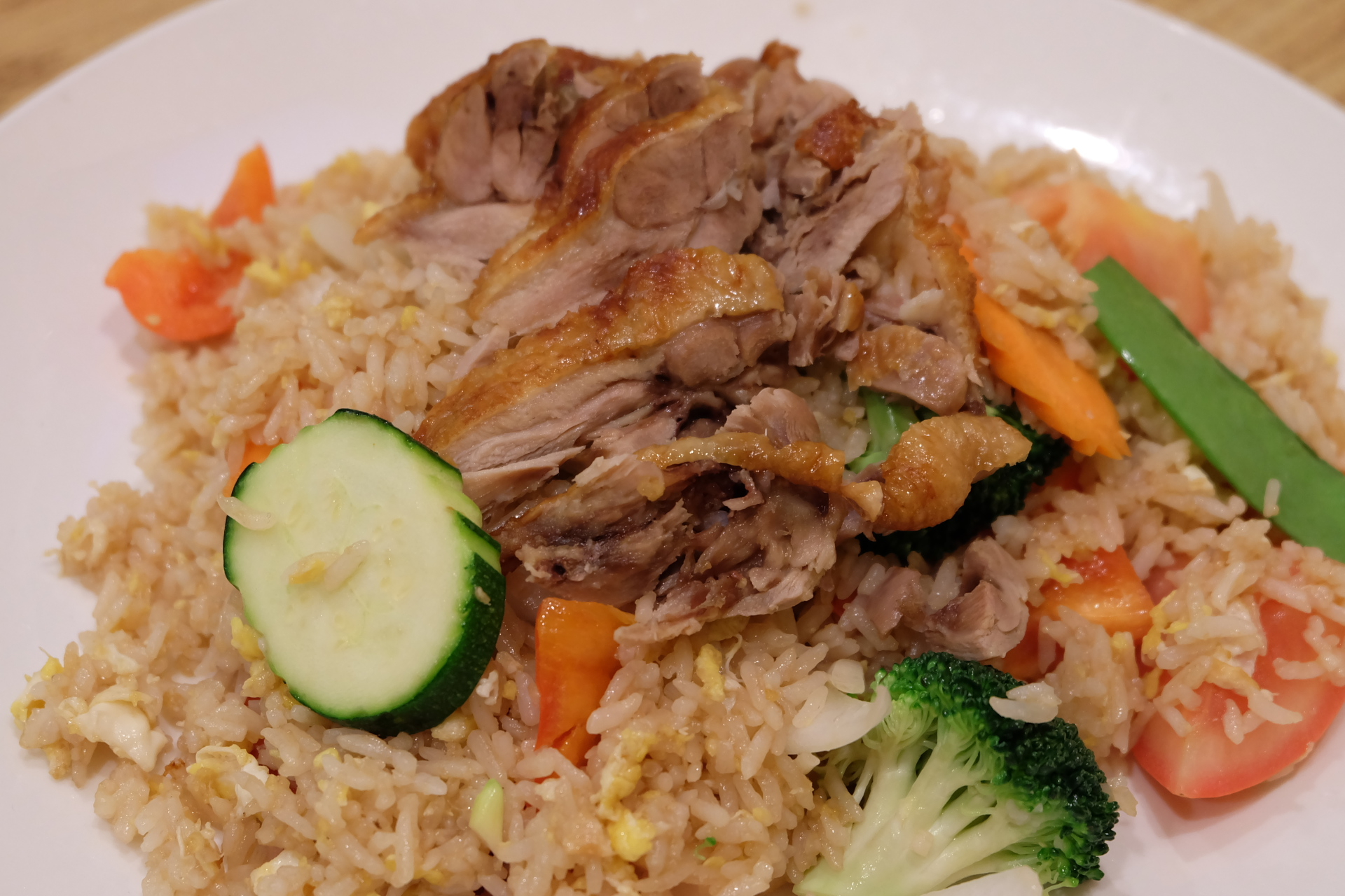 Thai Fried Rice with Duck