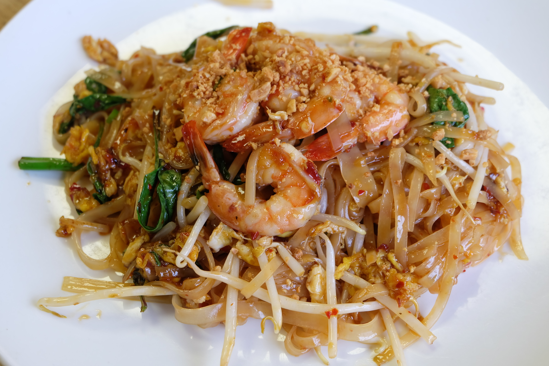 Spicy Basil Pad Thai