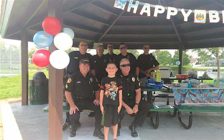 Watch Florida Cops Save a Birthday for Autistic Boy When No One Shows Up