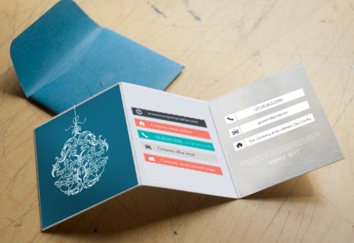 Folding Business Card